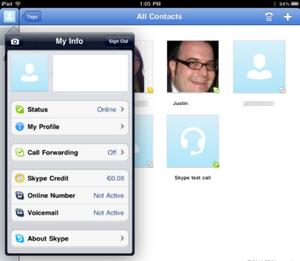 Skype выпускает приложение для ipad