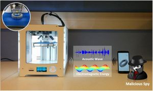 Смартфон научился на слух воровать чертежи из 3d-принтера