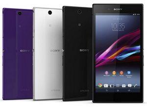 Sony официально представила гигантский смартфон. фото