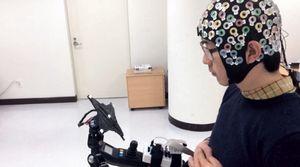 Создан интерфейс мозг-компьютер для роботов. видео