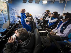 Студии samsung galaxy в лиллехаммер позволят по-новому взглянуть на олимпийские игры