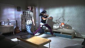 Технология roomalive превращает комнату в игровую среду