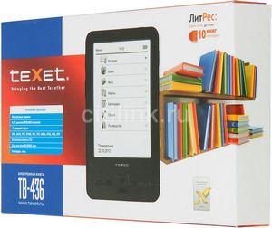 Texet tb-436 - самая маленькая электронная книга