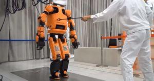 В японской гостинице на одинадцать роботов десять человек