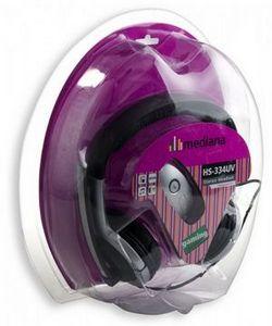 Виброгарнитура mediana stereo headset hs-334uv для игр и общения