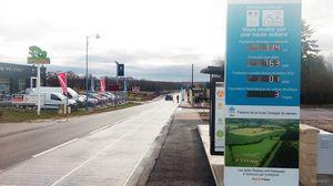 Во франции построена первая в мире солнечная дорога (9 фото)