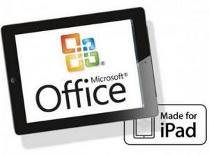 Зачем нужен office для ipad?